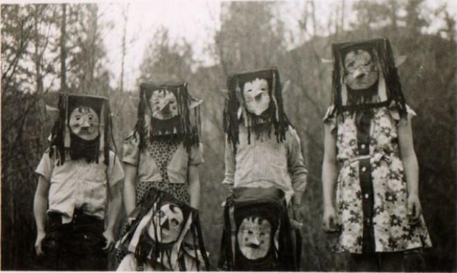 Halloweenské masky 12