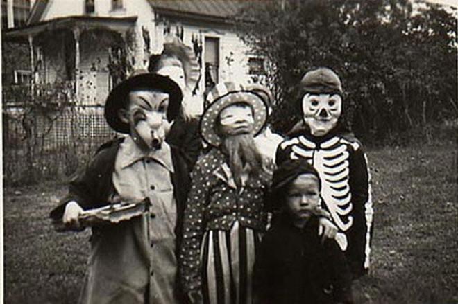 Halloweenské masky 2