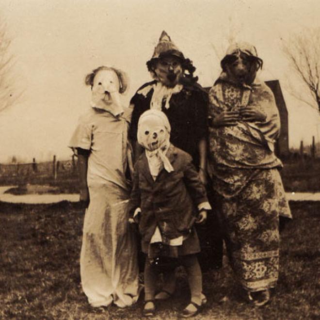 Halloweenské masky 3