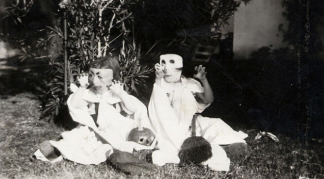 Halloweenské masky 4