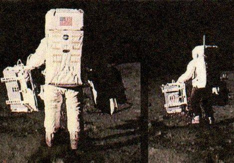 Přistání na měsíci - záhada