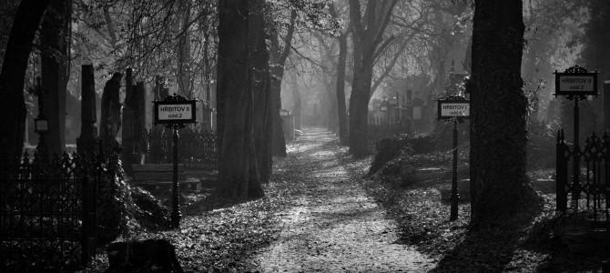 Strašidelný příběh: Z toho hřbitova jsme museli pryč