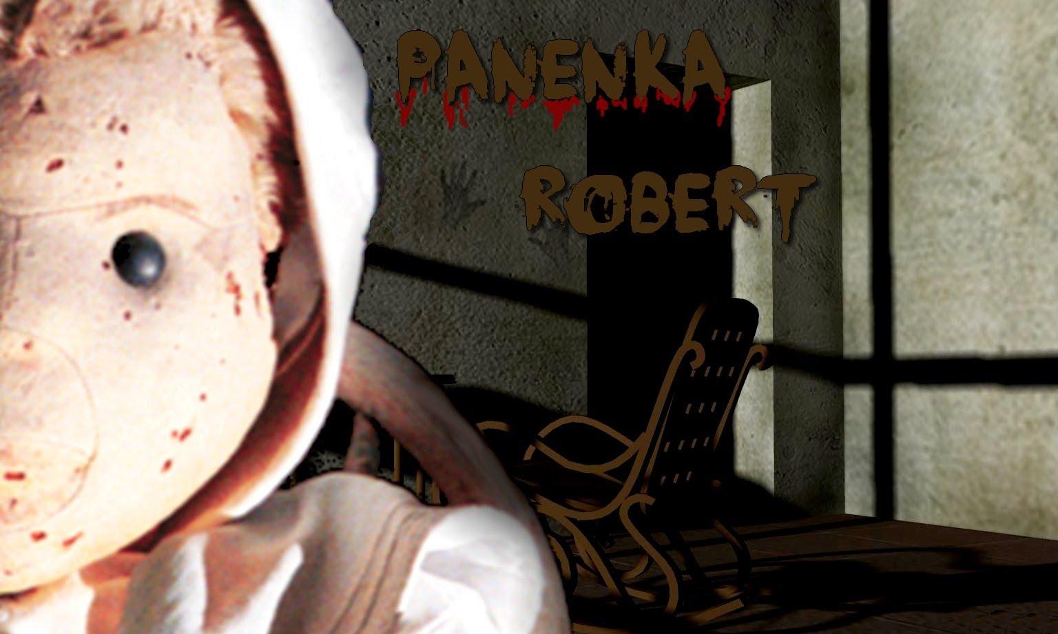 Strašidelná panenka Robert