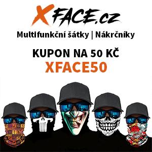 xface multifunkční šátky a nákrčníky sleva